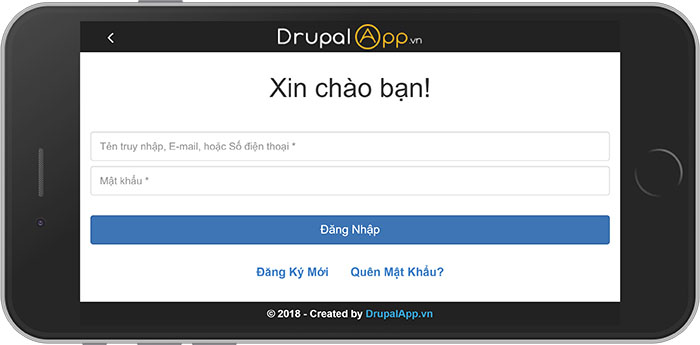 Giao diện App